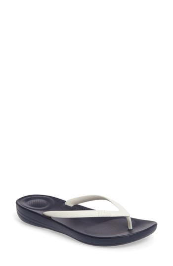 Fitflop Iqushion Flip Flop, Blue