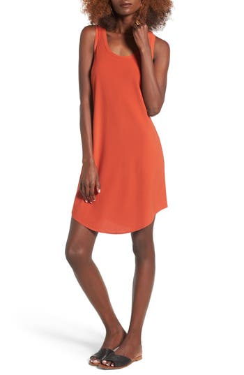 Leith Tank Dress, Red