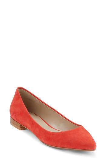 Women's G.h. Bass & Co. Kayla Pointy Toe Flat, Size 6 M - Orange