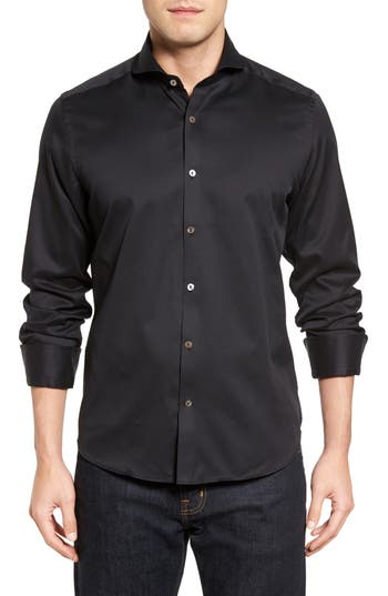Men's Stone Rose Textured Sport Shirt