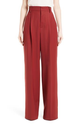 Women's Marni Stretch Wool Wide Leg Pants