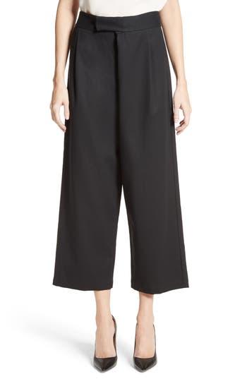 Women's Co Gabardine Wrap Front Crop Pants