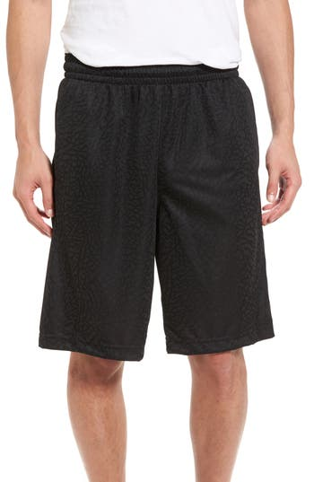 Nike Jordan Rise Vertical Basketball Shorts, Black