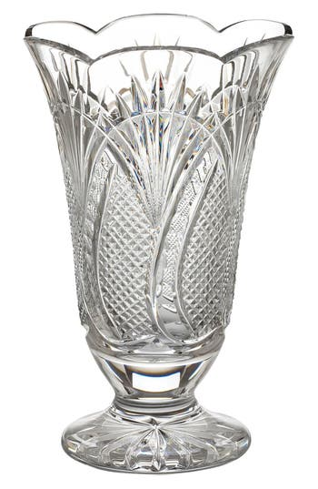 Waterford Seahorse Lead Crystal Vase, Size One Size - White