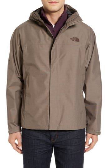 Men's The North Face Venture Ii Raincoat, Size X-Large - Brown