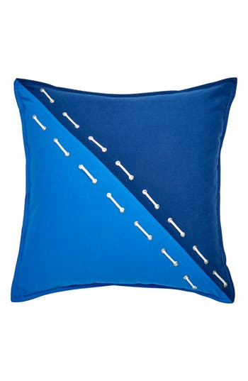 Southern Tide Yacht Club Grommet Accent Pillow, Size One Size - Blue