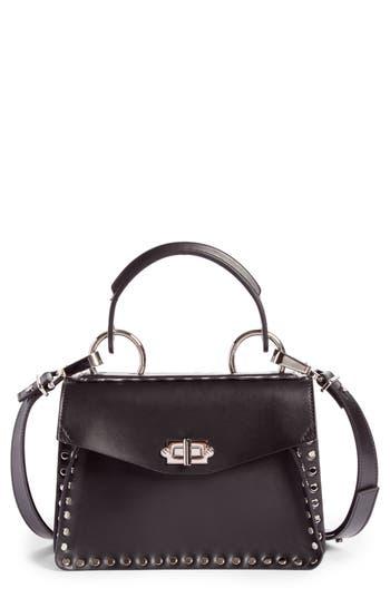 Proenza Schouler Small Hava Top Handle Leather Satchel - Black