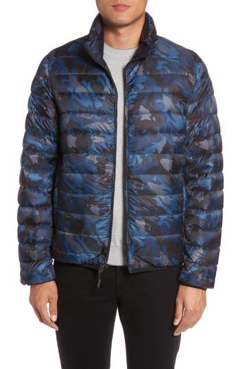 Tumi Reversible Down Jacket, Blue