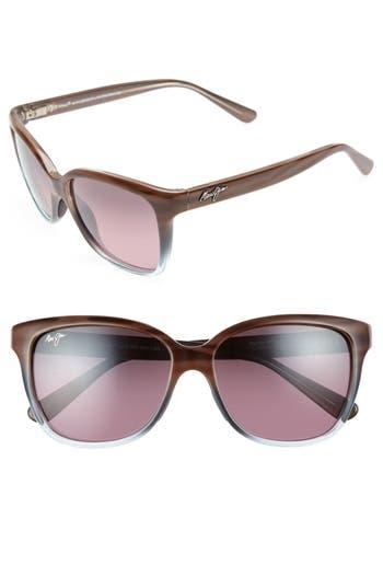 Maui Jim Starfish 5m Polarized Cat Eye Sunglasses - Sandstone/ Blue