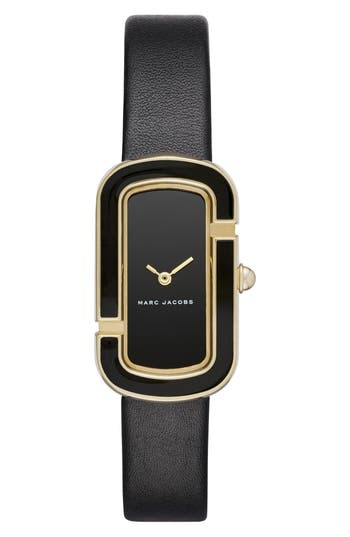 Women's Marc Jacobs The Jacobs Leather Strap Watch, 39Mm