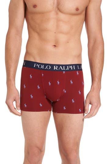 Men's Polo Ralph Lauren Stretch Cotton Boxer Briefs
