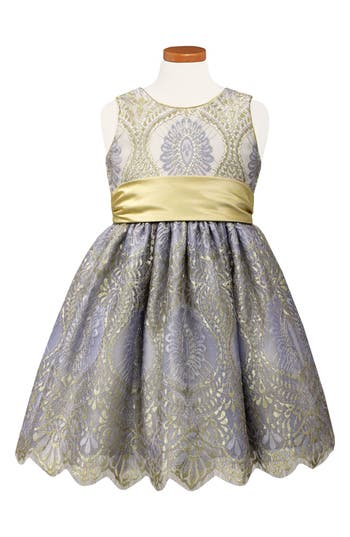 Girl's Sorbet Lace Party Dress