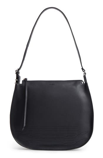 Allsaints Cooper Lea Calfskin Leather Hobo -