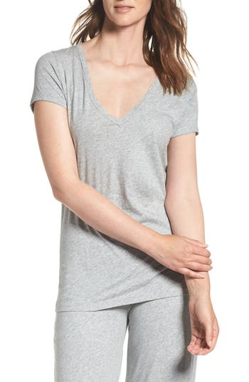 Women's Skin V-Neck Pima Cotton Tee