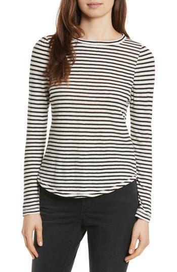Women's La Vie Rebecca Taylor Long Sleeve Stripe Tee