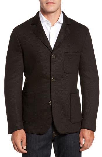 Men's Flynt Laser Edge Wool Blend Jersey Sport Coat