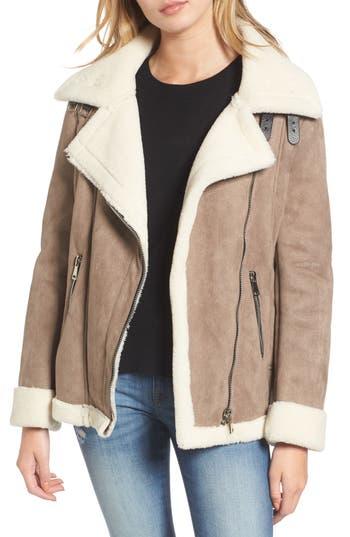 Women's Vigoss Faux Shearling Oversized Jacket