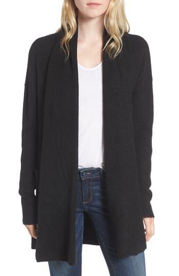 Women's Hinge Cardigan Sweater, Size XX-Small - Black