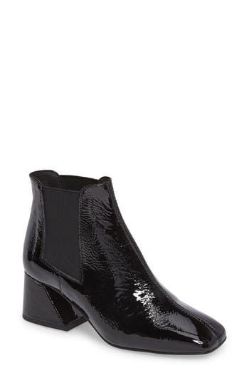 Topshop Manuel Architectural Heel Bootie - Black