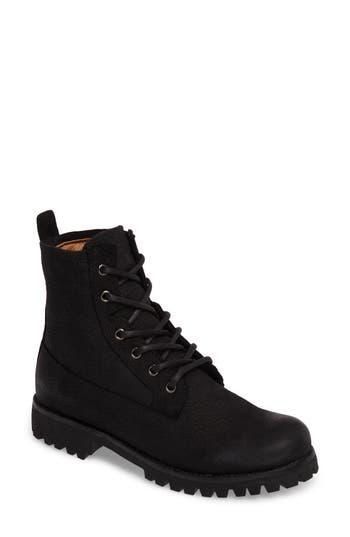 Blackstone Ol23 Lace-Up Boot Black
