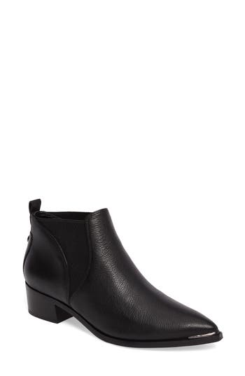 Marc Fisher Ltd Yellin Pointy Toe Chelsea Boot, Black