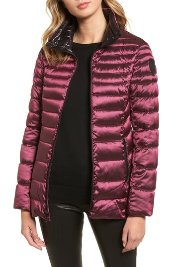 Vince Camuto Packable Down Jacket, Red