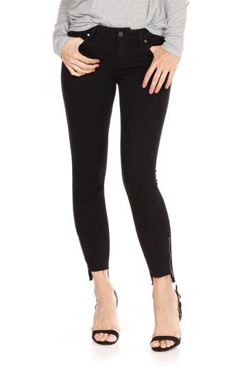 Women's Paige Transcend - Verdugo Step Hem Ankle Skinny Jeans