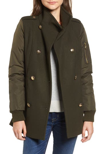 Women's Vince Camuto Double Breasted Jacket