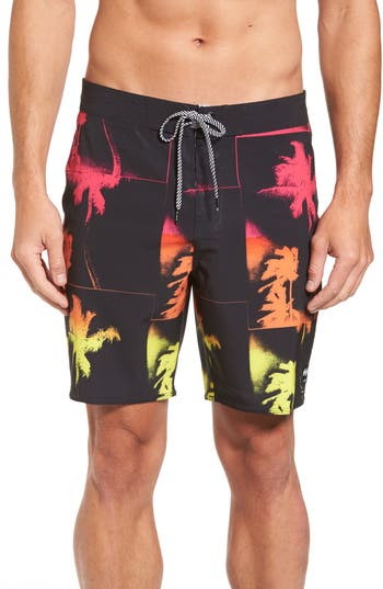 Billabong X Warhol La Jolla Board Shorts, Black