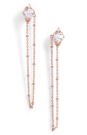 Women's Nadri Cardamom Chain Earrings