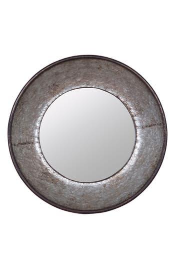 Foreside Frisco Round Mirror, Size One Size - Metallic