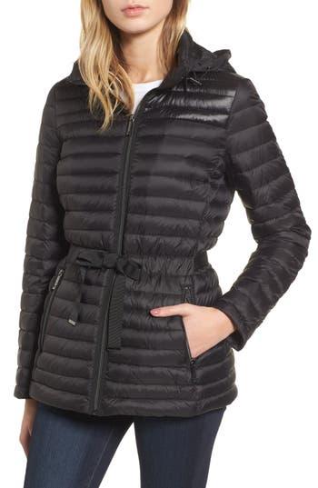 Michael Michael Kors Down & Feather Fill Jacket, Black