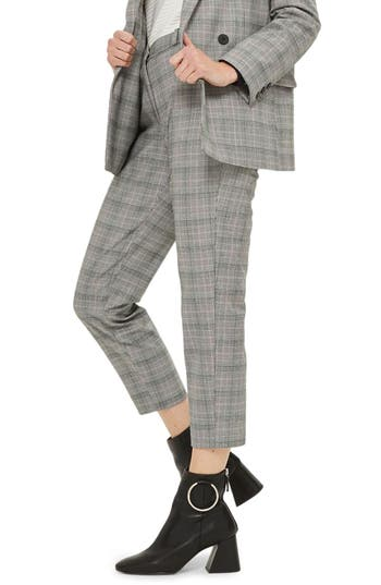 Women's Topshop Tapered Suit Trousers