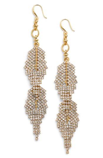 Women's Badgley Mischka Crystal Drop Earrings