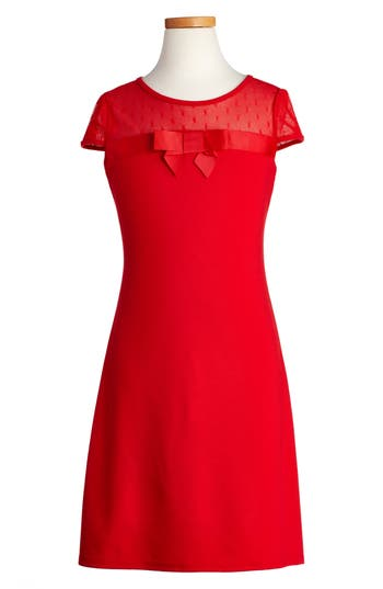 Girl's Blush By Us Angels Empire Sheath Dress