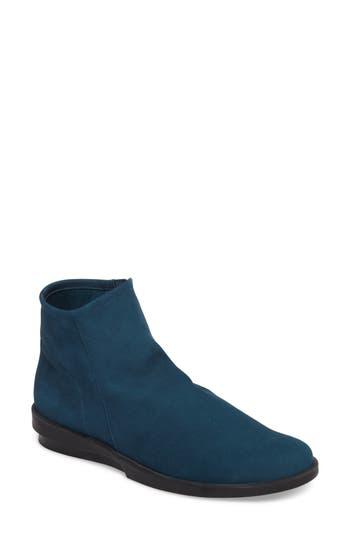 Women's Arche 'Detyam' Wedge Zip Bootie, Size 6US / 37EU - Blue