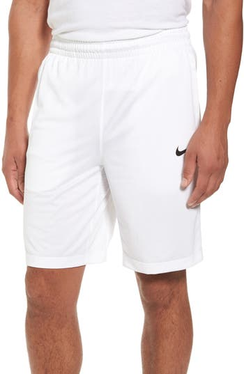 Nike Basketball Shorts, White