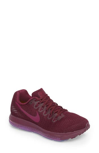 Women's Nike Air Zoom All Out Running Shoe, Size 5.5 M - Purple