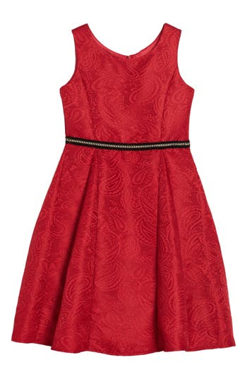 Girl's Dorissa Hannah Jacquard Dress