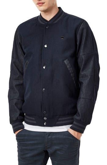 Men's G-Star Raw Rackam Wool Bomber Jacket