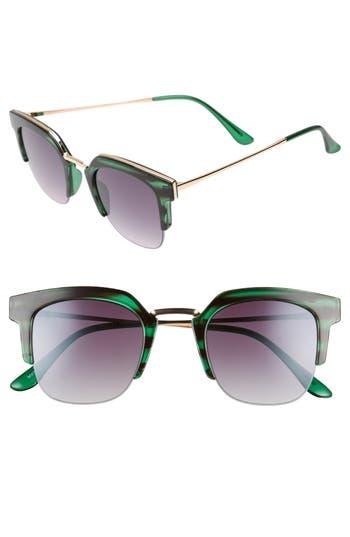 Women's Bp. 47Mm Retro Sunglasses - Green