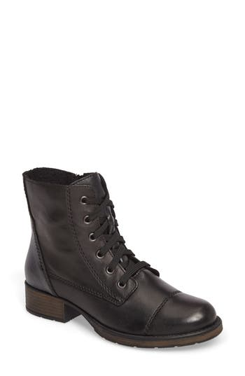 Rieker Antistress Faith 10 Lace-Up Boot, Black