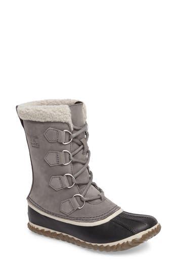 Sorel Caribou Slim Waterproof Boot, Grey
