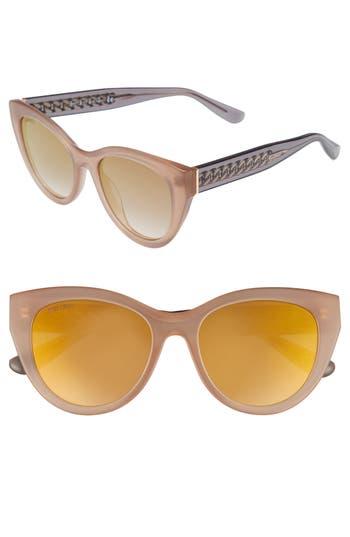 Jimmy Choo Chana 52Mm Gradient Sunglasses - Nude
