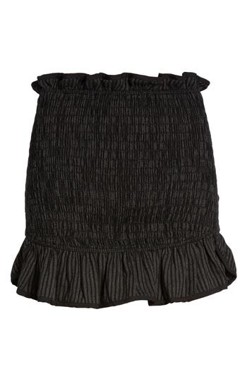 Women's Lovers + Friends Smocked Miniskirt
