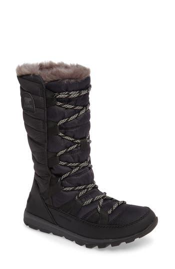 Sorel Whitney Snow Boot, Black