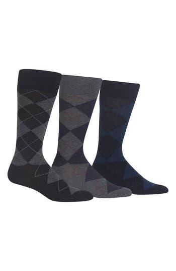 Men's Polo Ralph Lauren 3-Pack Argyle Socks
