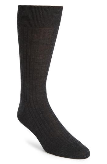 Men's John W. Nordstrom Ribbed Merino Wool Socks