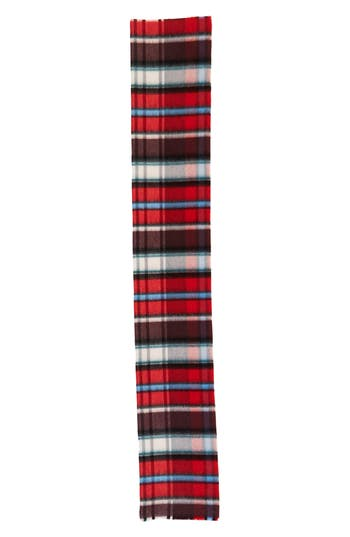 Women's Burberry Check Wool Blend Scarf