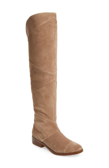 Sole Society Tiff Over The Knee Boot, Brown